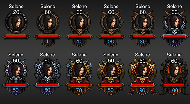 Diablo 3 Character New in-game Icons