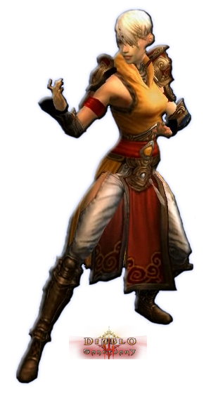 Diablo 3 Female Monk