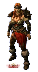 Diablo 3 Female Barbarian