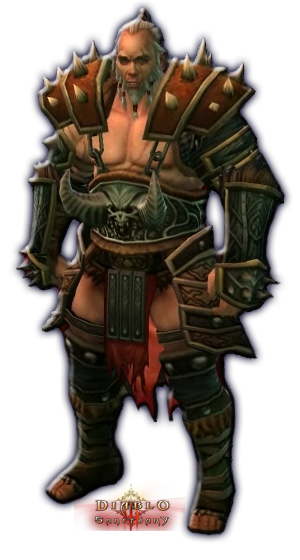 Diablo 3 Male Barbarian